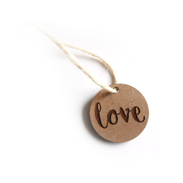 sign tag wood love