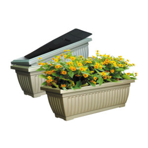 metallic planter box filter